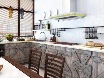 WEEKEND - современная кухня из массива сосны