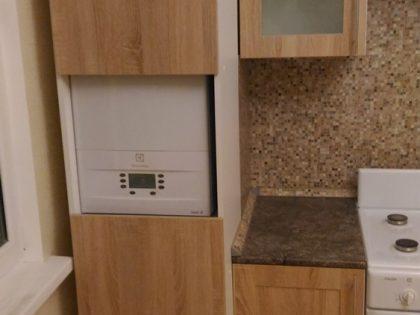 Кухня Эко-шпон Дуб Санома рамочный