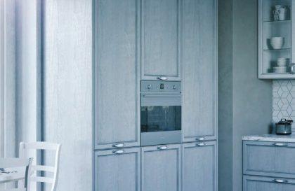 Кухня Леон с рамочными фасадами из МДФ