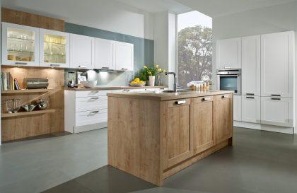 Современная кухня PENNY с фасадами из экошпона