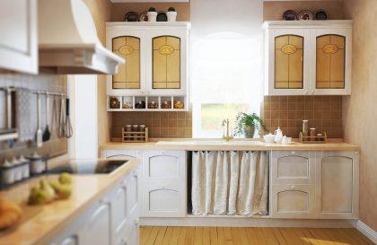 Классическая кухня VIRGINIA с МДФ эмалью