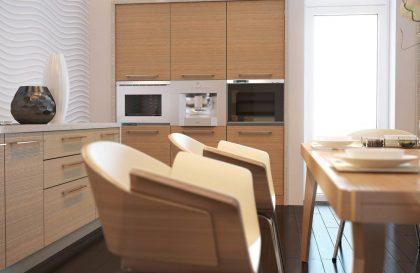 Кухонный гарнитур Mirella из экошпона