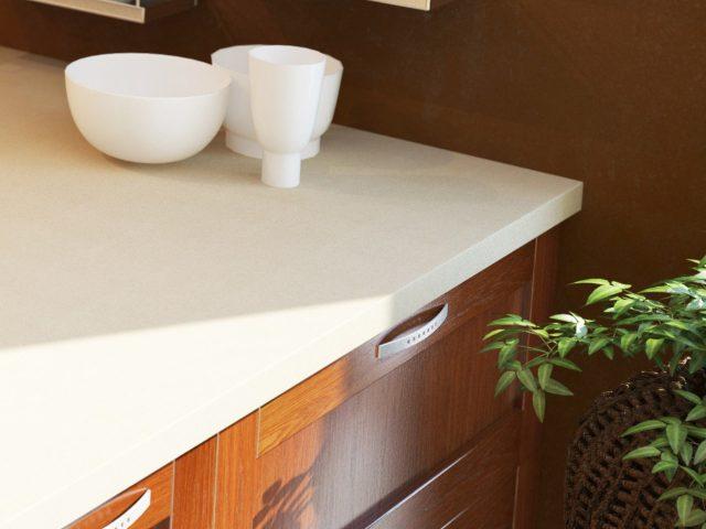 Кухонный гарнитур COUNTRY с рамочными фасадами из массива ольхи