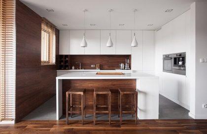 Кухня BREEZE с матовыми фасадами из МДФ