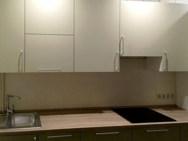 Прямая кухня Альва с МДФ-фасадами