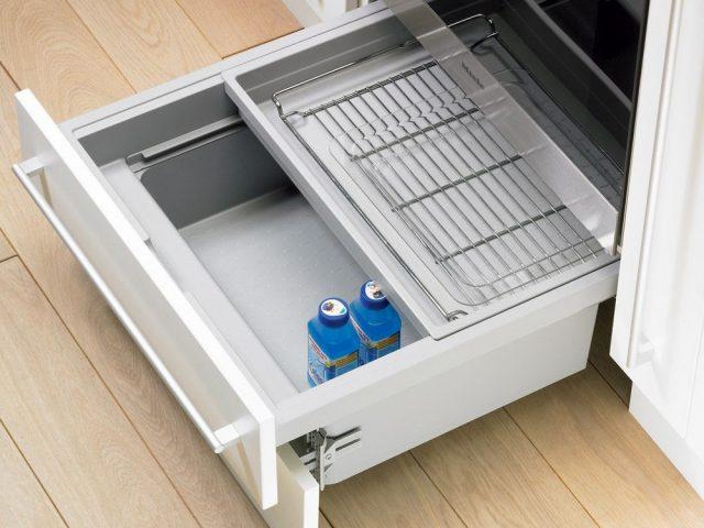 Выдвижной короб XXL для установки под духовку