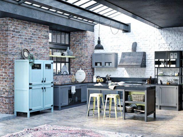 Кухня Loft Legno