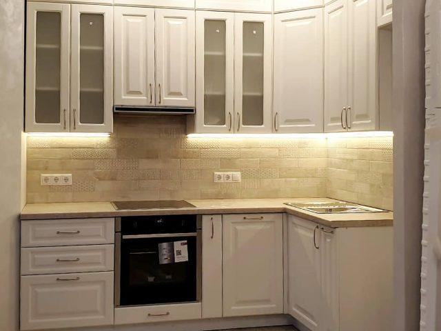 Угловая кухня Клайд с фасадами из МДФ