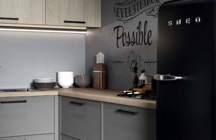 Кухня «ХАГЕН» из МДФ в стиле Лофт