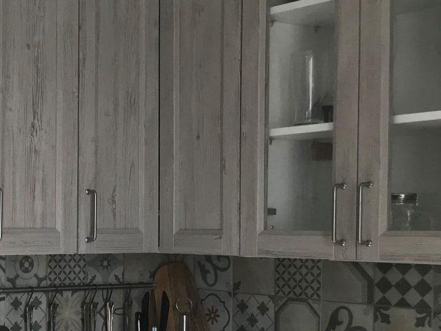 Угловая кухня Марсель из МДФ шпона