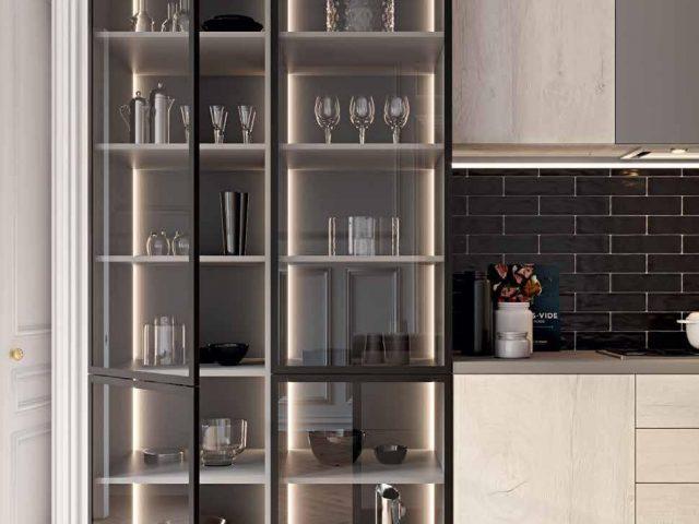 Кухня Синкро Делайт в стиле Лофт с фасадами из МДФ